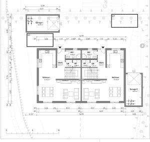 Deringbau Bad Waldsee Immobilie Grundriss Erdgeschoss