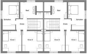 Deringbau Bad Waldsee Immobilie Grundriss Obergeschoss